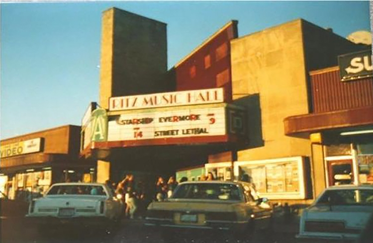 Image of 1989 Ritz Music Hall Indianapolis Indiana