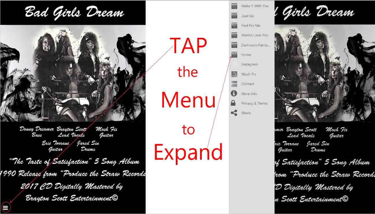 Image of Bad-Girls-Dream-App-Icon-Instructions