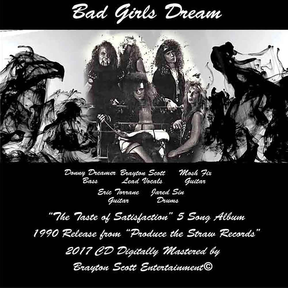 Image of Bad Girls Dream CD Cassette Cover