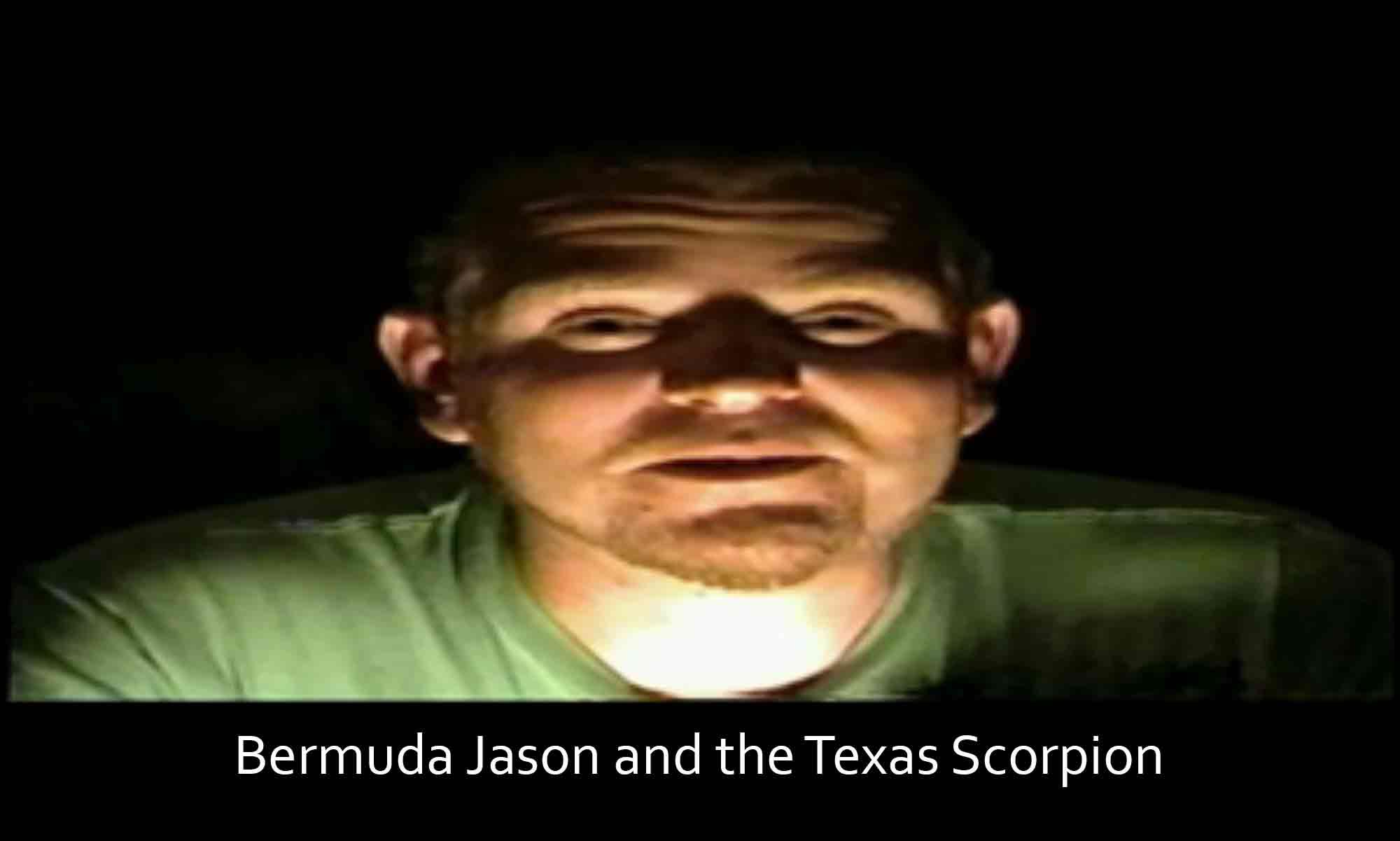 Image of Bermuda Jason and the Texas Scorpion Brayton Scott Entertainment©