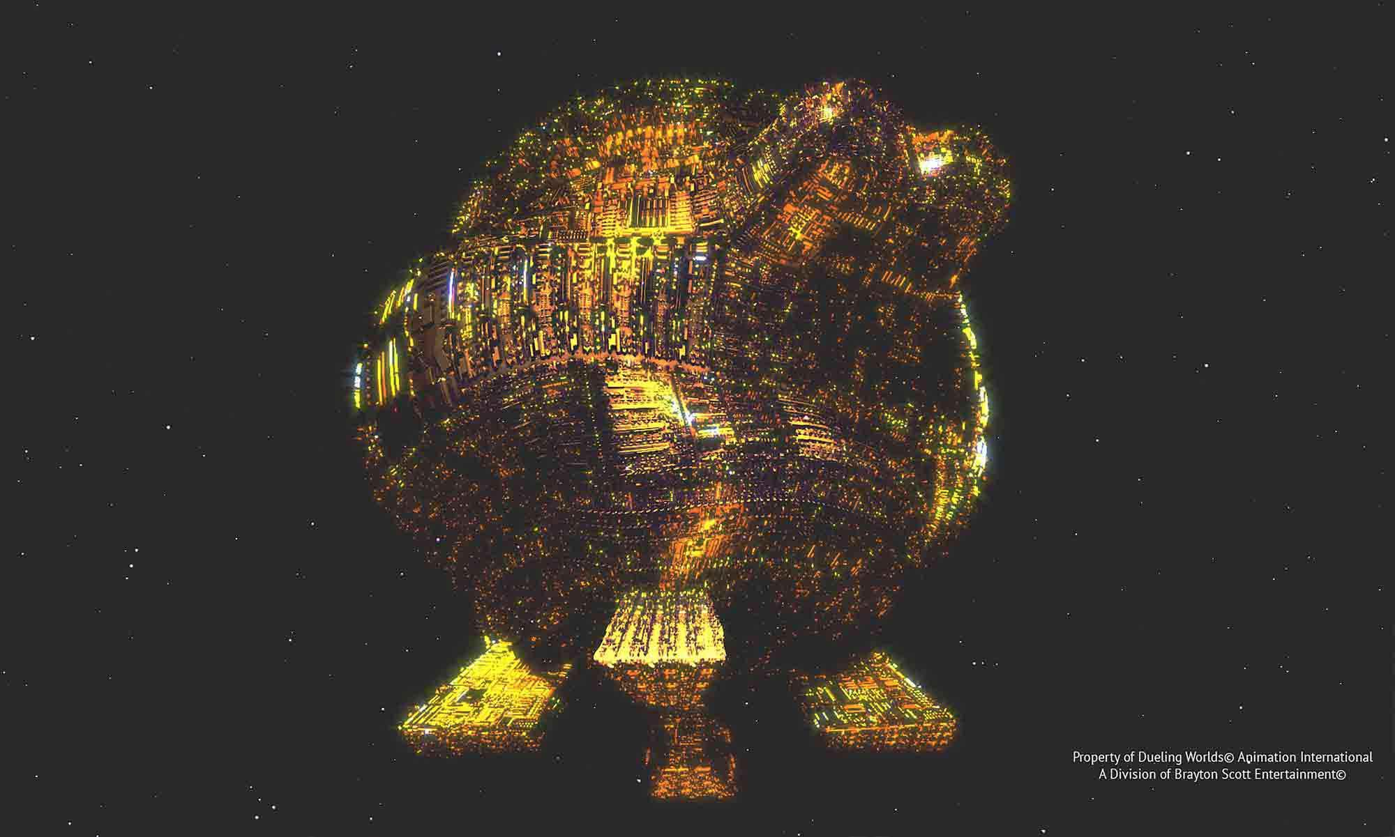 Image of Dueling-Worlds-International-Braytonion-Deep-Galaxy-Space-World-Insta
