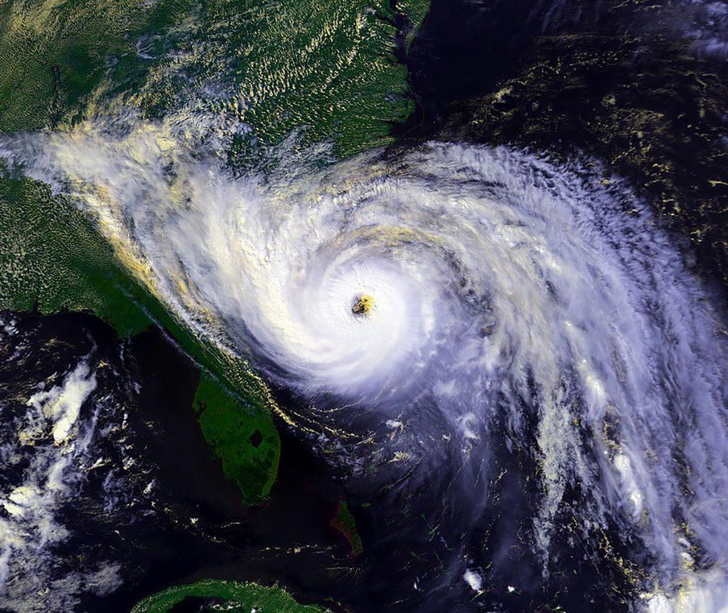 Image of Hurricane Hugo 1989 September