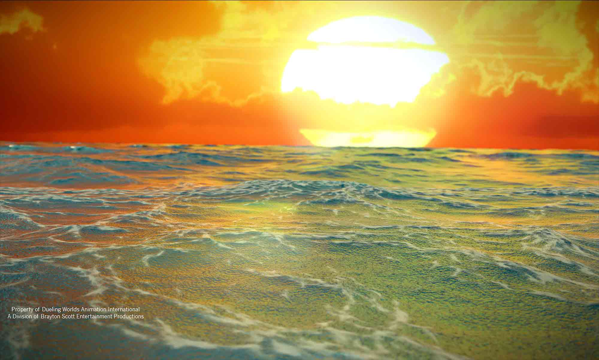 Image of Dueling Worlds© International Braytonion Ocean out to Sea