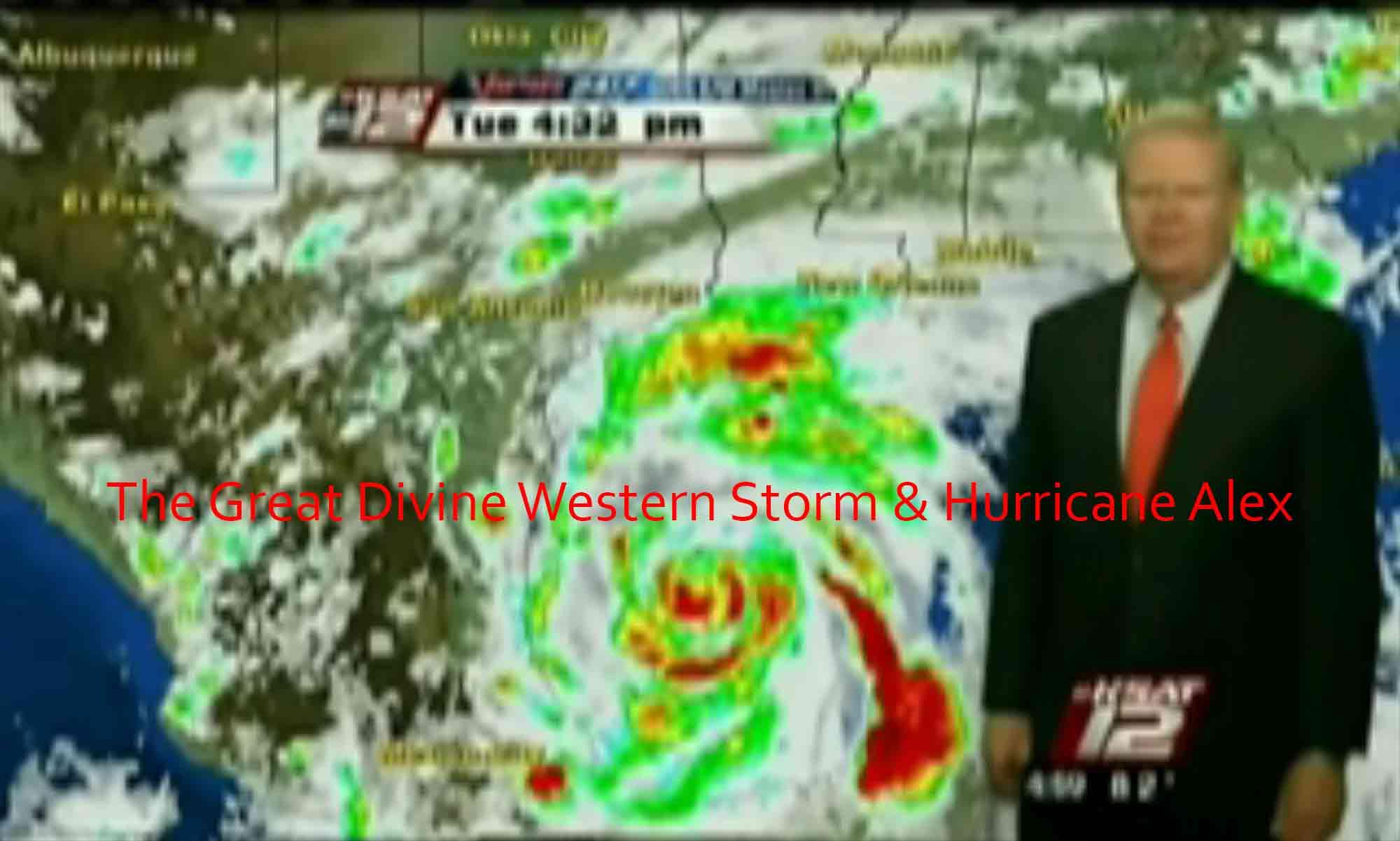 Image of The Great Divine Western Storm & Hurricane Alex Brayton Scott Entertainment©