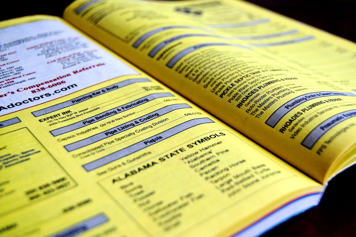 Image of Yellow Pages