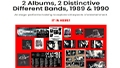 Image of 2-Albums-2-Bands-Table-of-Contents-Images